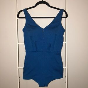 Vintage 1960's one piece bathing suit